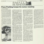 Baltimore Business Journal article on Penn Parking